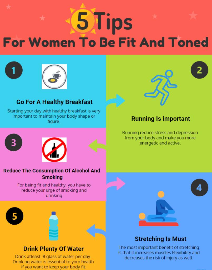 5 Best Fitness Tips For Women