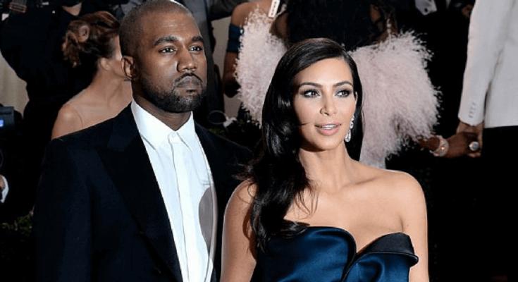 Kim Kardashian West Breaks Her Monochromatic Streak in—What Else?—Yeezy