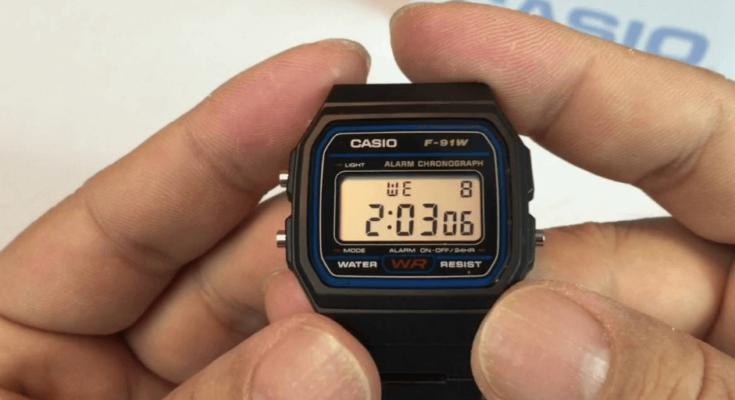 Casio F-91w Digital Watch Review