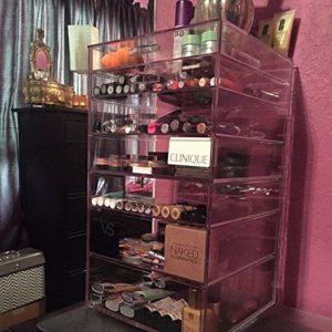 GlamoureBox Acrylic Cosmetic Cube Organizer