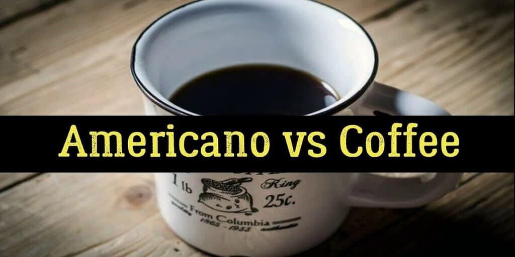 Americano VS Coffee